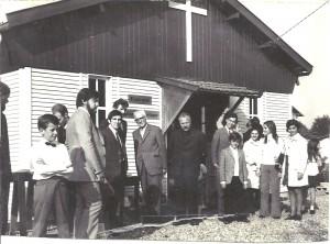 Inauguration de l'église l'eau Vive à Fourchambault