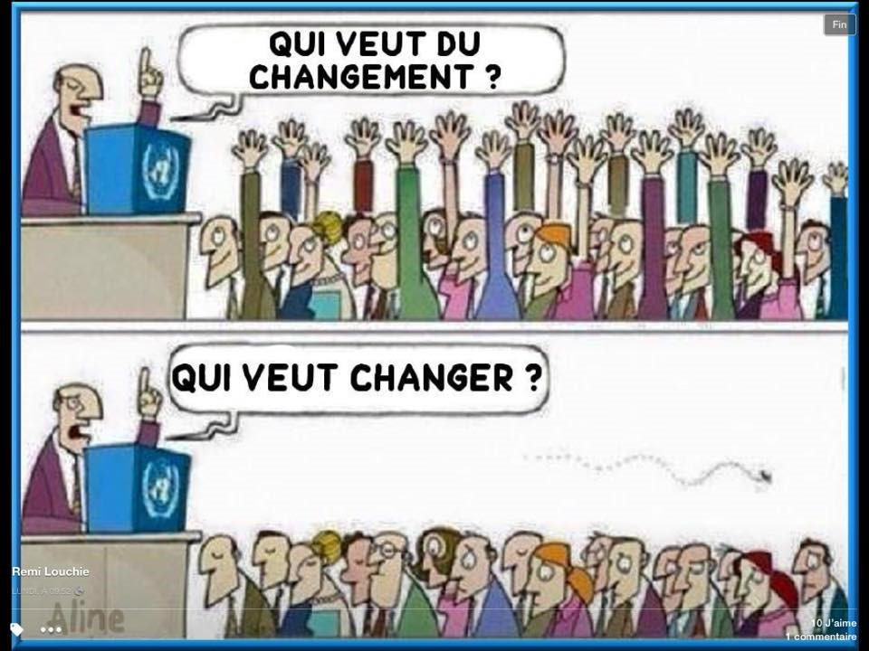 qui veut du changement